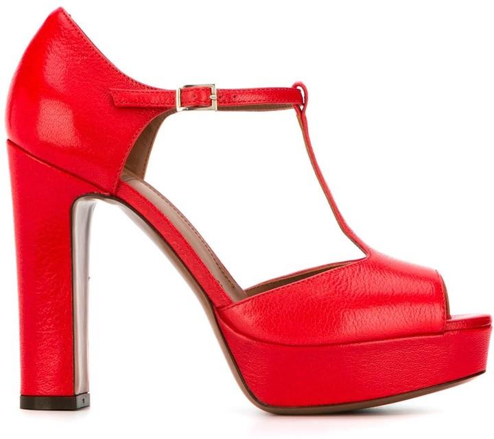 L'Autre Chose heeled Mary Jane sandals