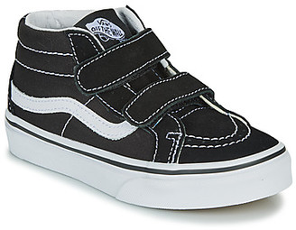 Vans UY SK8-MID REISSUE V girls's Shoes (High-top Trainers) in Black