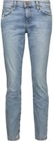 Current/Elliott The Stiletto mid-rise distressed skinny jeans