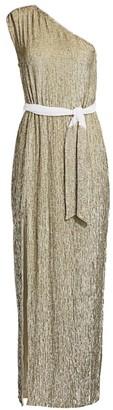 retrofete Vivien Sequined Georgette Gown