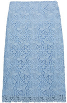 Nina Ricci Cotton-Blend Lace Skirt