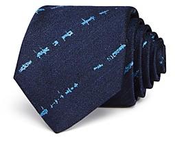 John Varvatos Filmore Distressed Stripe Classic Tie