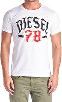 Diesel Mens T Shirt 78 Lonad Tee
