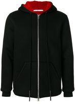 Givenchy hooded zipped jacket