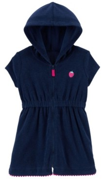 Carter's Toddler Girls Strawberry Hooded Cover Up