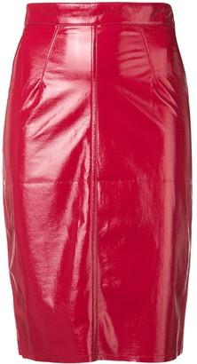 Fiorucci Margot vinyl skirt