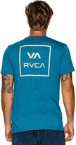RVCA Grid All The Way Ss Tee