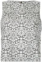 CITYSHOP printed sleeveless blouse
