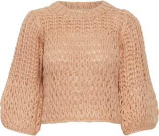 Gestuz SaharGZ pullover - s | wool | pink | ash pink - Pink/Pink