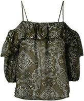 Jucca off shoulder blouse