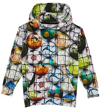 Molo Romo (Little Kids/Big Kids) (Footballs) Boy's Sweatshirt
