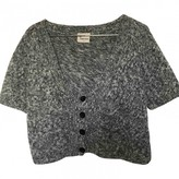Stella Forest Anthracite Wool Knitwear for Women