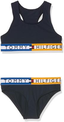 Tommy Hilfiger Girl's Bralette Bikini Set Swimwear