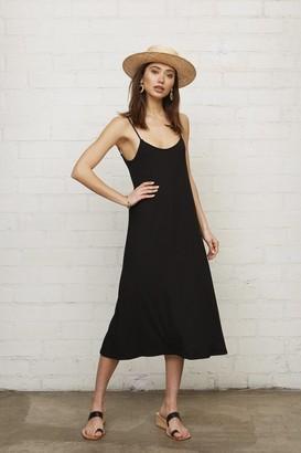 Rachel Pally Rib Victory Dress - Black