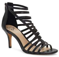 Vince Camuto Petronia Stiletto Heel Suede Sandals