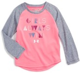 Under Armour Infant Girl's Play With Heart Graphic Tee