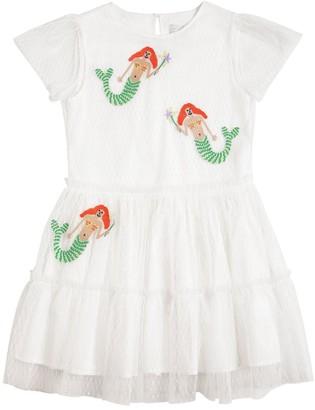 Stella Mccartney Kids Mermaid Stretch Tulle Dress