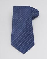 Armani Collezioni Heathered Diagonal Stripe Classic Tie