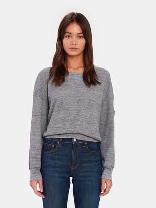 Splendid Top Wedge Thermal Crop Sweater