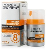 L'Oreal Men Expert Hydra Energetic Multi-Action 8 Anti-Fatigue Moisturizer, 1.7 Ounce