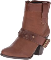DOLCE by Mojo Moxy Womens Ankle Cowboy, Western Boots Brown 7.5 Medium (B,M)