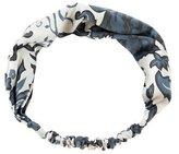 Eugenia Kim Satin Paisley Headband w/ Tags
