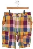 Scotch Shrunk Boys' Plaid Cargo Shorts