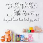 Making Statements Twinkle Twinkle Little Star Wall Sticker Quote