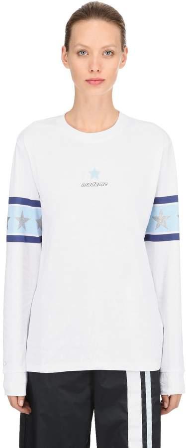 Converse X Mademe Mademe Cotton Jersey Long Sleeve T-Shirt