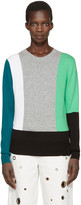 Kenzo Black Colorblock Pullover