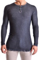 Avant Toi Men's Grey Cashmere T-shirt.