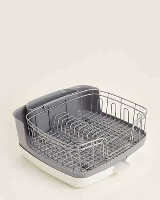 Copco Satin Grey & White 5-Piece Dish Drying Rack