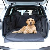 Shine Car Rear Back Seat Cover Boot Protector Pet Cover Liner Protector Durable- Heavy Duty- high Quality