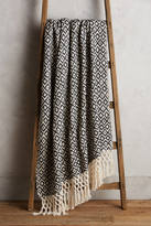 Anthropologie Diamond Weave Throw