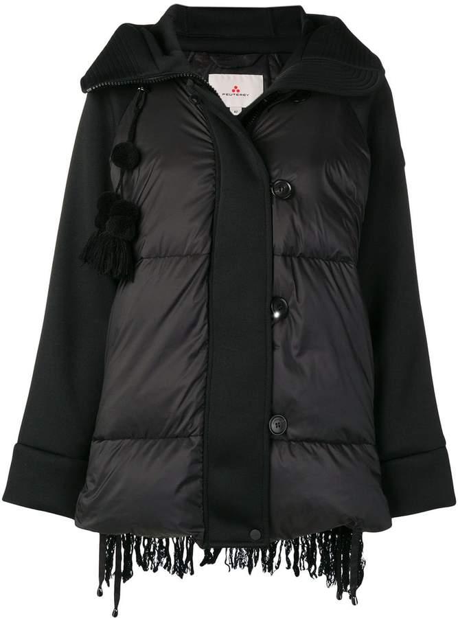 Peuterey padded textured back jacket