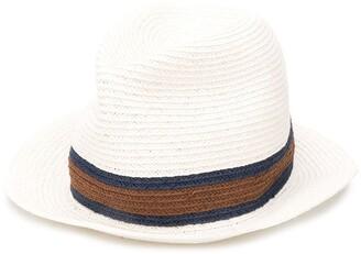 Ermenegildo Zegna Woven Straw Hat