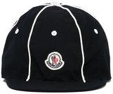 Moncler logo patch cap - kids - Cotton - 48 cm