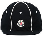 Moncler logo patch cap - kids - Cotton - 52 cm