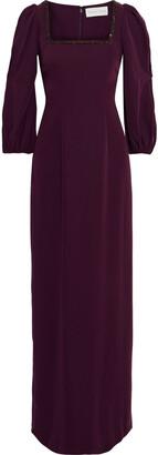 Sachin + Babi Ginny Crystal-embellished Twill Gown