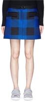 Rag & Bone 'Cybil' buffalo check plaid mini skirt