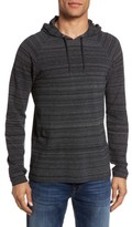 John Varvatos Men's Striated Knit Hoodie