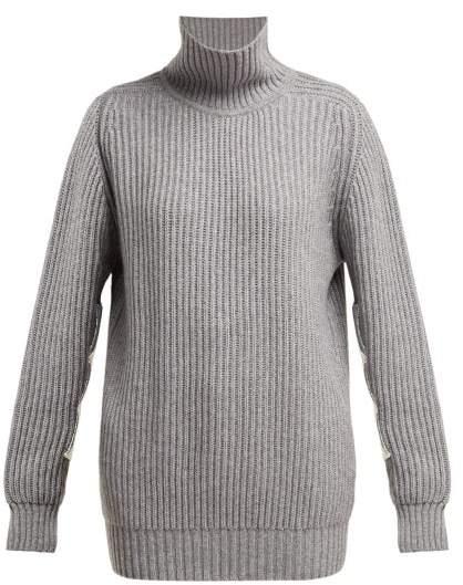 157b529d6de Cashmere Sweater Elbow Patch - ShopStyle UK