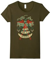 Cherokee Women's We Are So Proud To Live Proud To Die T Shirt Large