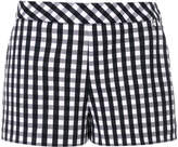 Twin-Set checked fitted shorts
