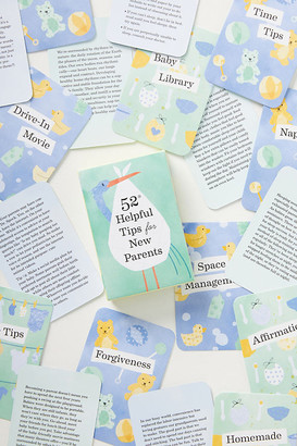 Anthropologie 52 Helpful Tips For New Parents Card Deck By in Assorted