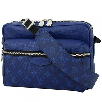 Louis Vuitton Outdoor Blue Cloth Bags