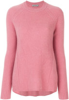 Sportmax flared crew neck sweater