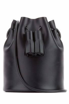 Building Block Mini Tassel Bucket Bag