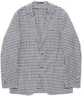 TOMORROWLAND Houndstooth soft blazer