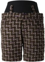 Haider Ackermann tweed shorts